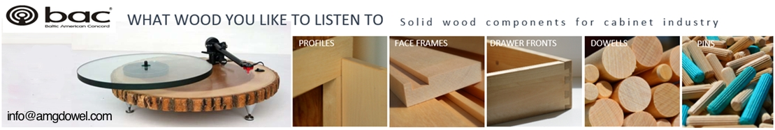 BAC - Solid Wood Components for Cabinet Industry.
